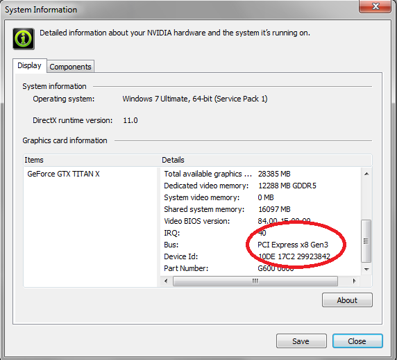 Why is GPU-Z and Nvidia Inspector Showing Me PCIE 2 0!?? - Overclock