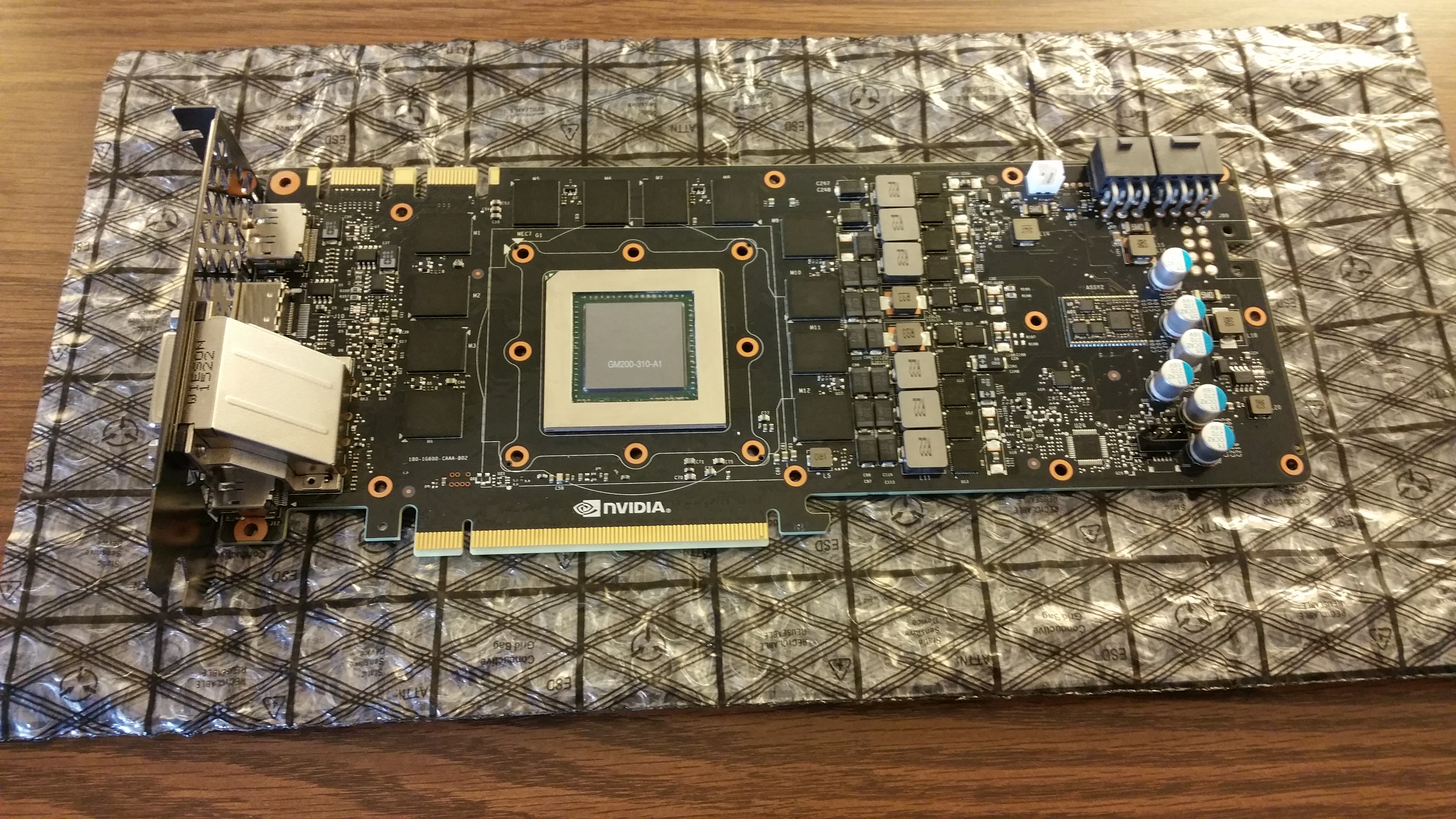 Clean it up to prepare for water block.