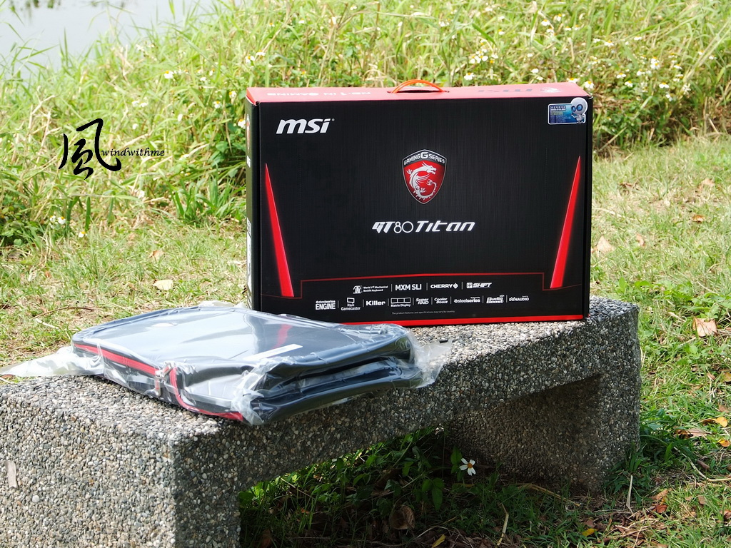 MSI GT80 Titan SLI, the gaming notebook with mechanic
