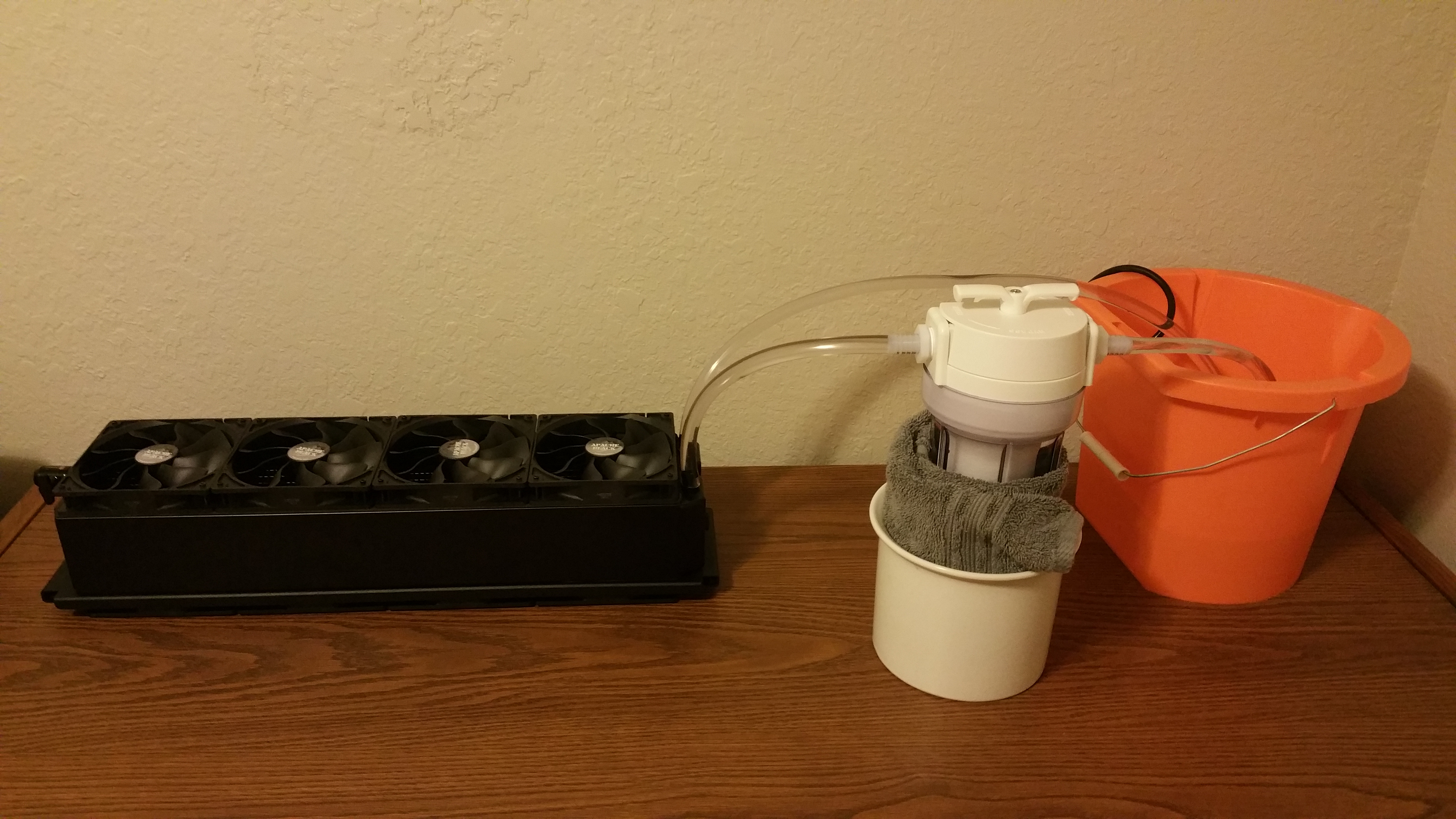 This is the setup while filtering.