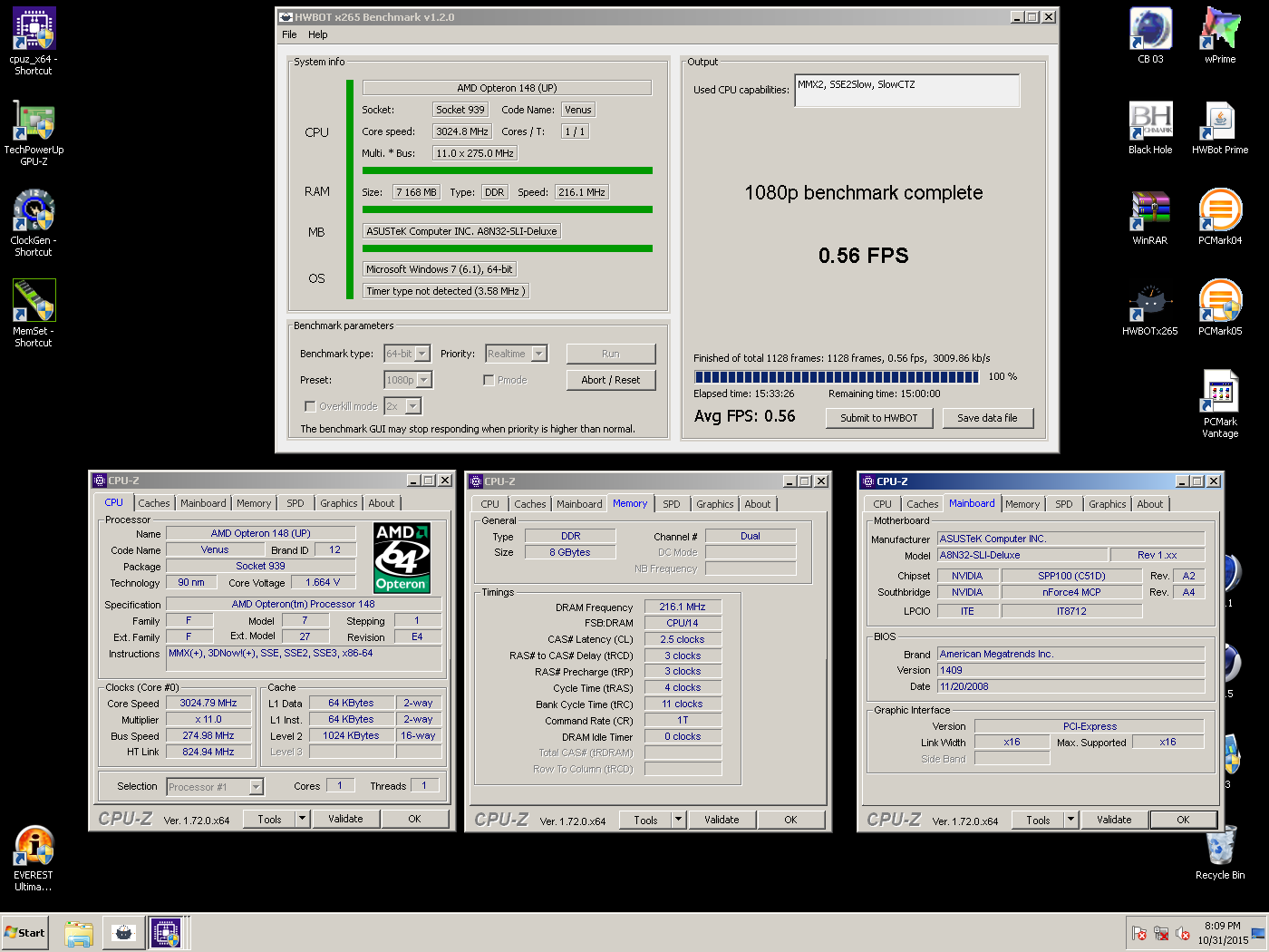 Re 8GB Of DDR1 In A Socket 939 System
