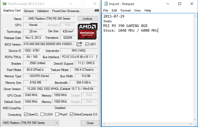 Official] AMD R9 390/390X Owners Club - Page 92 - Overclock