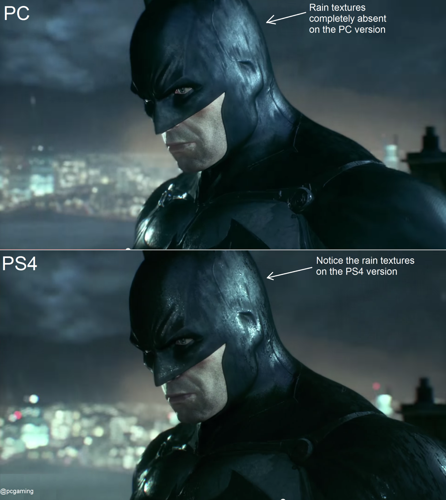 AC]Batman Arkham Knight: Missing Textures