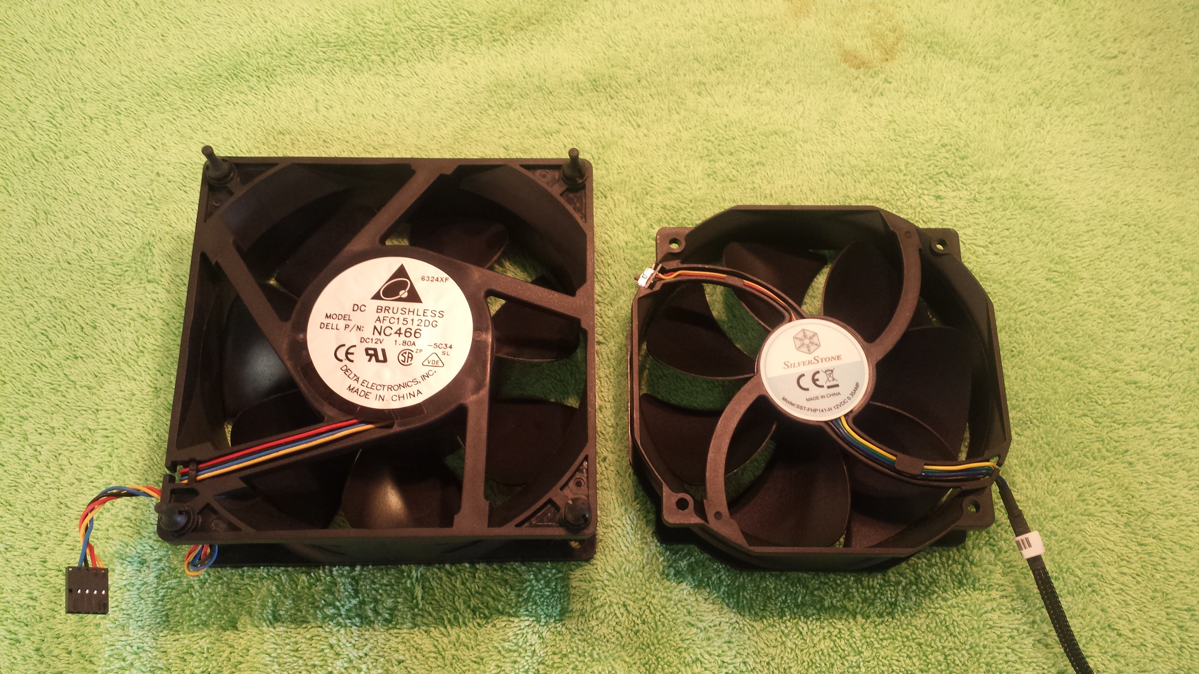 150X50mm next to Silverstone 140X38mm .35A.