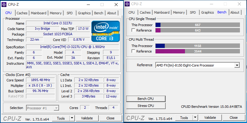 CPUID] New CPU-Z 1 73! - Page 16 - Overclock net - An