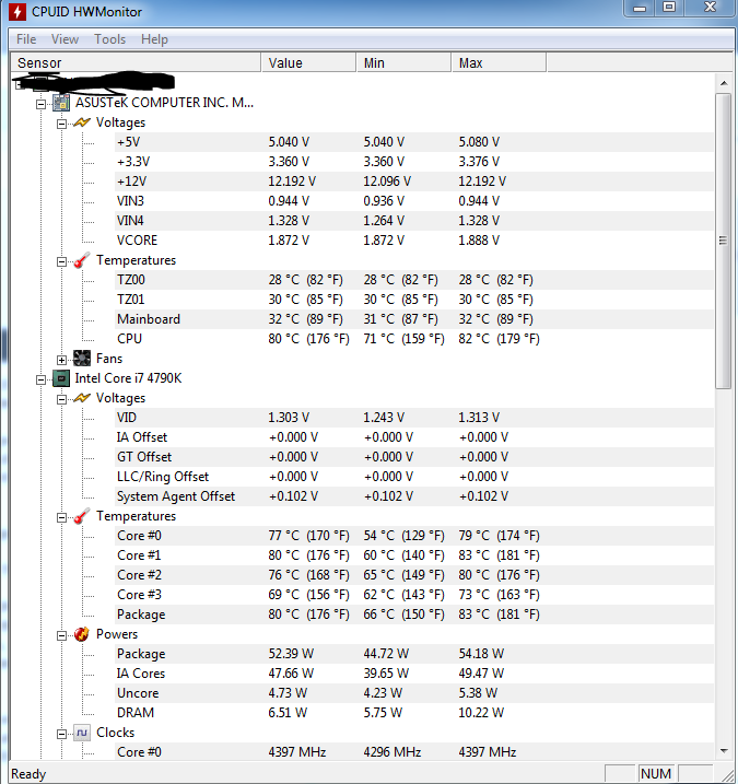I7 Devil's Canyon 4790k Load temps - Overclock net - An