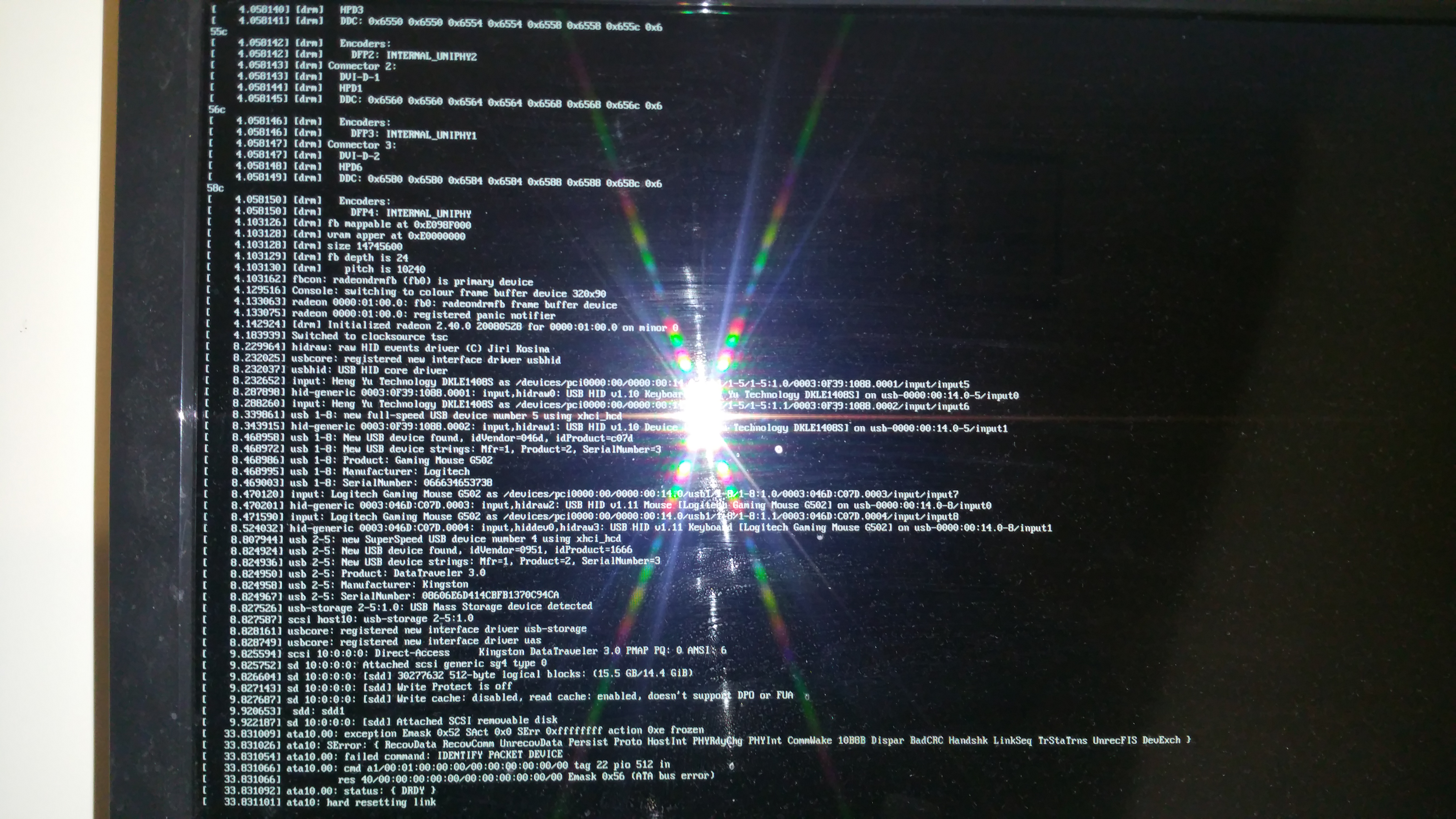 Kernel panic when installing Linux Mint 17 3? - Overclock