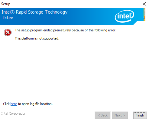 Intel rapid storage technology drivers and intel z77 chipset