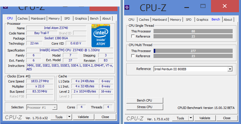 CPUID] New CPU-Z 1 73! - Page 11 - Overclock net - An