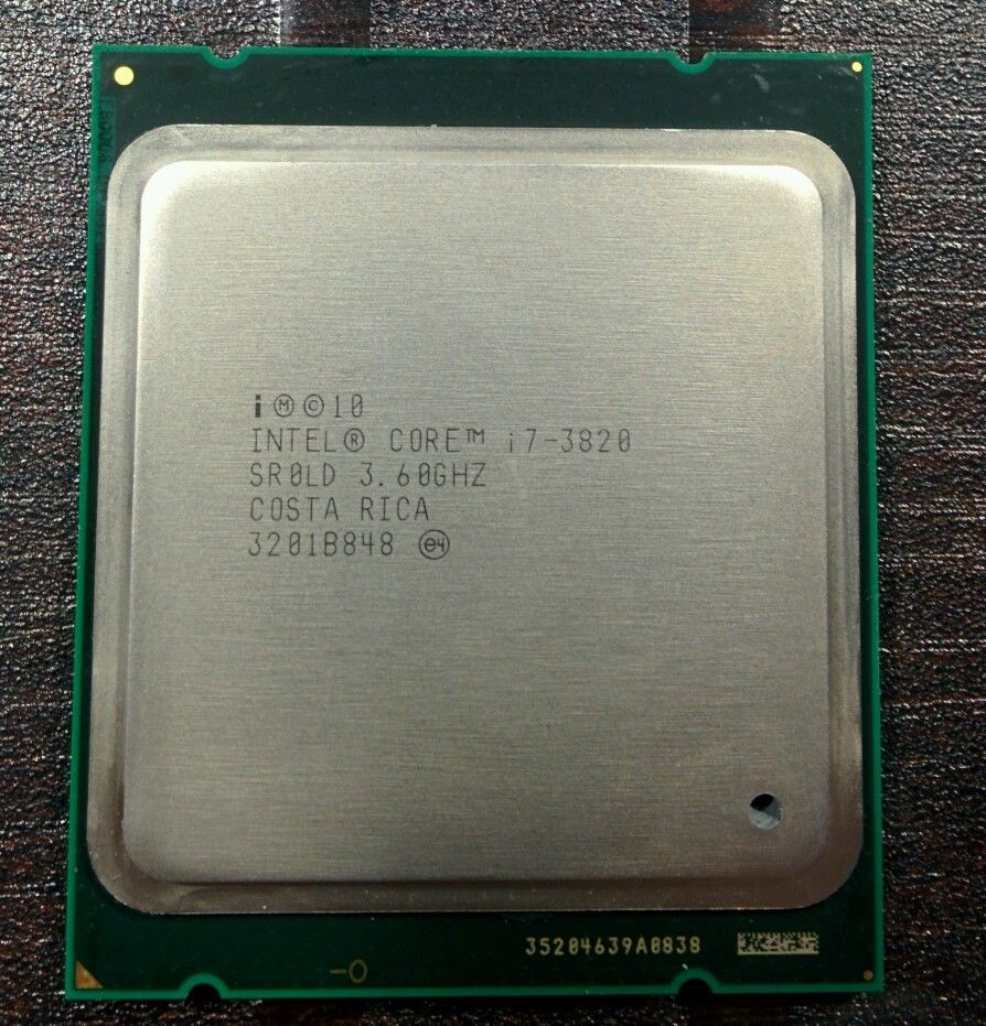 First step...i7 3820 for x79.