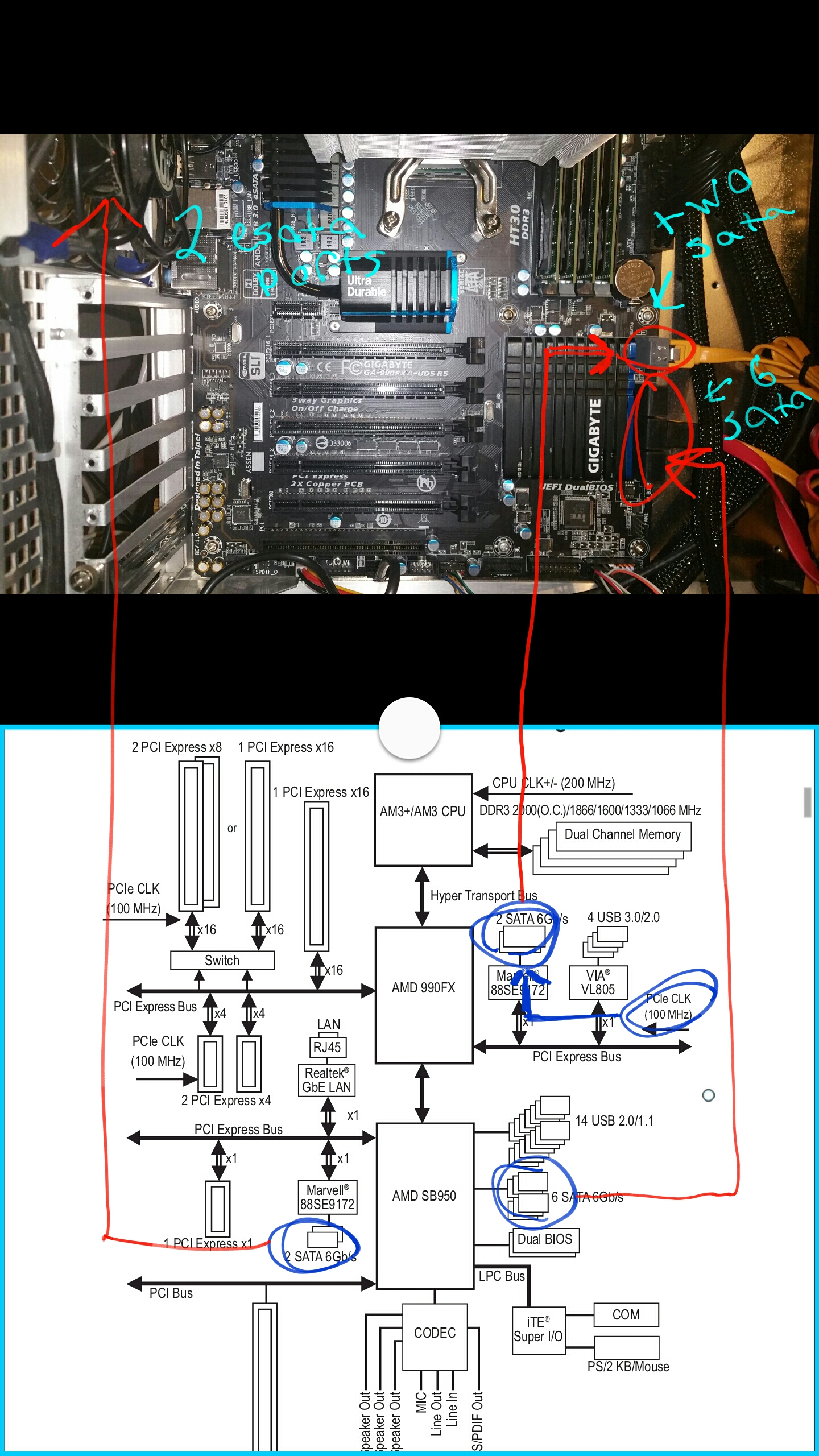 Reading Motherboard Block Diagram An Overclocking X8 Wiring Because At The Top Of It Has Cpu Clock Stock Bclk Value Have Relatively New Ga 990fxa Ud5 R5 Rev 10