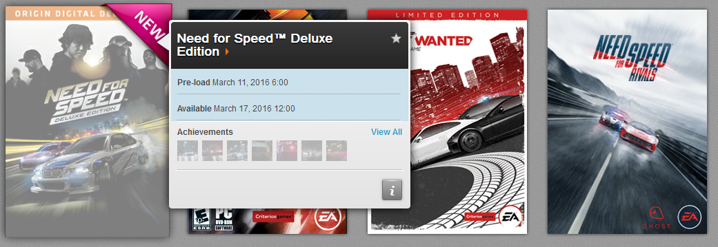 Need For Speed Information & Discussion