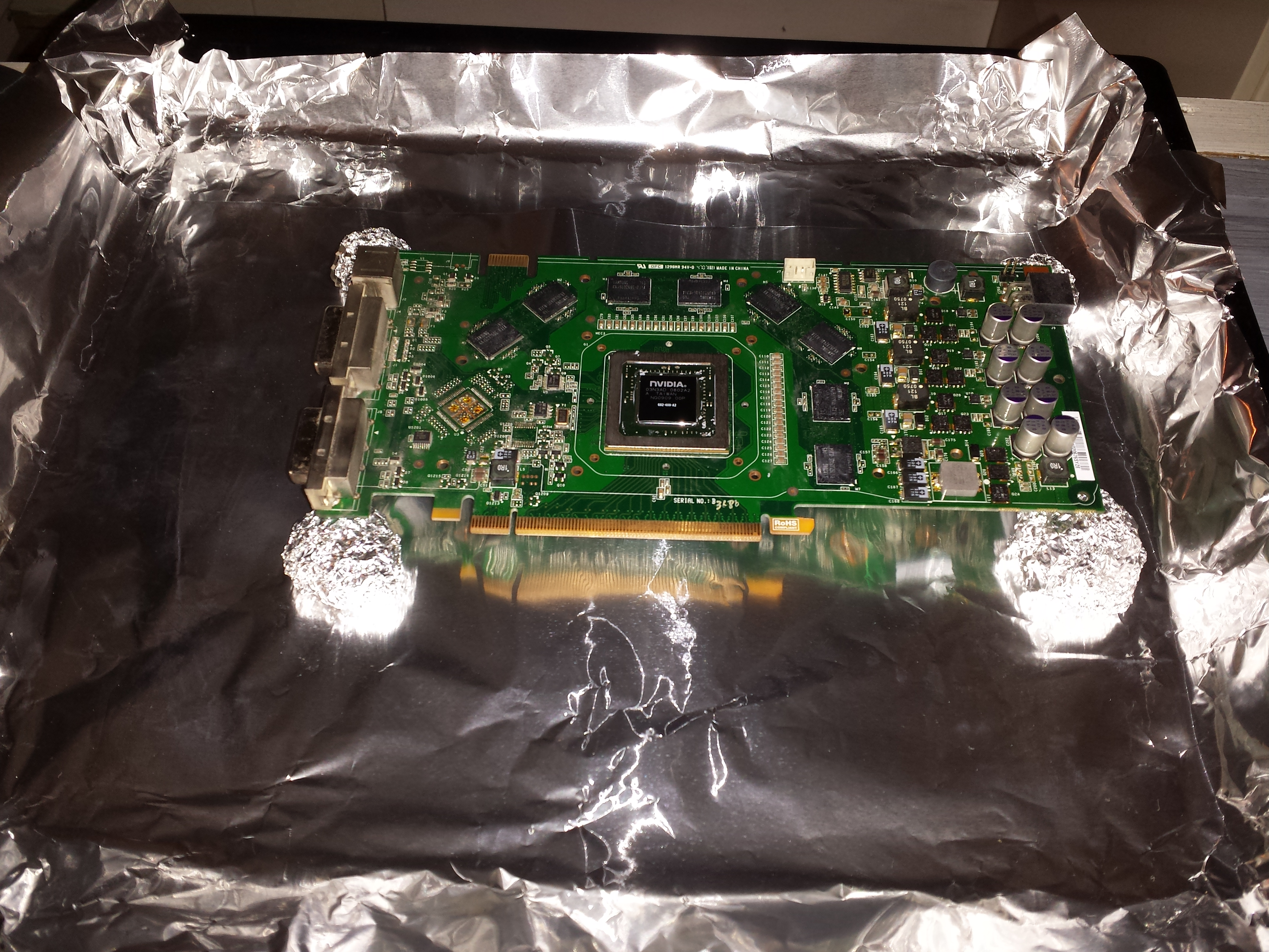 Just baked my graphics card  What can I expect? - Overclock