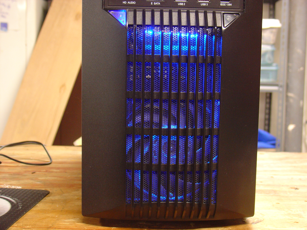 Front view, GT unplugged