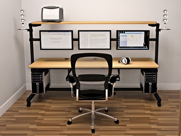 Computer Desk Ideas And Suggestions
