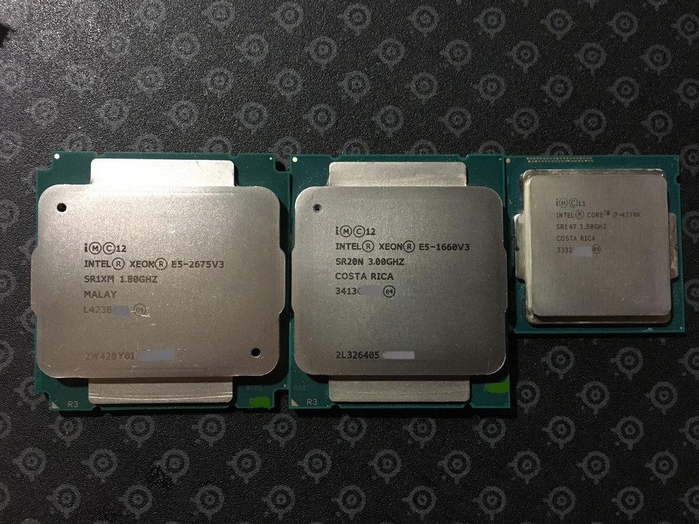 16 Cores at a Resonable Price: Xeon E5-2675v3 CPU Gaming Test Bench