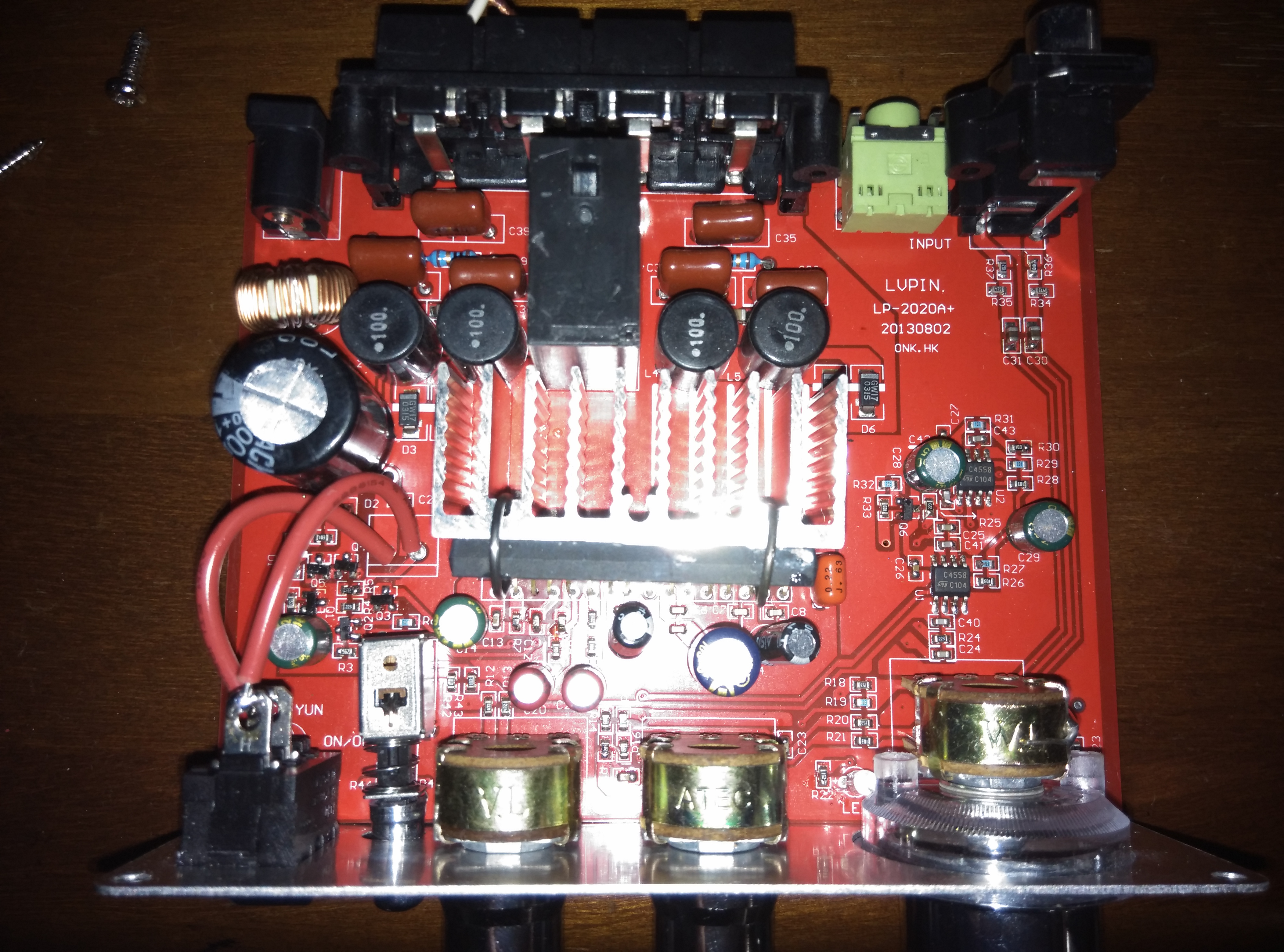 Lvpin Lepai Amplifier Modding An Overclocking Pcb For Board Audio Power Circuit Quotes Id Like To Change Out All Of The Electrolytic Capacitors On As Well 6 Rectangular In Charge Output Stage