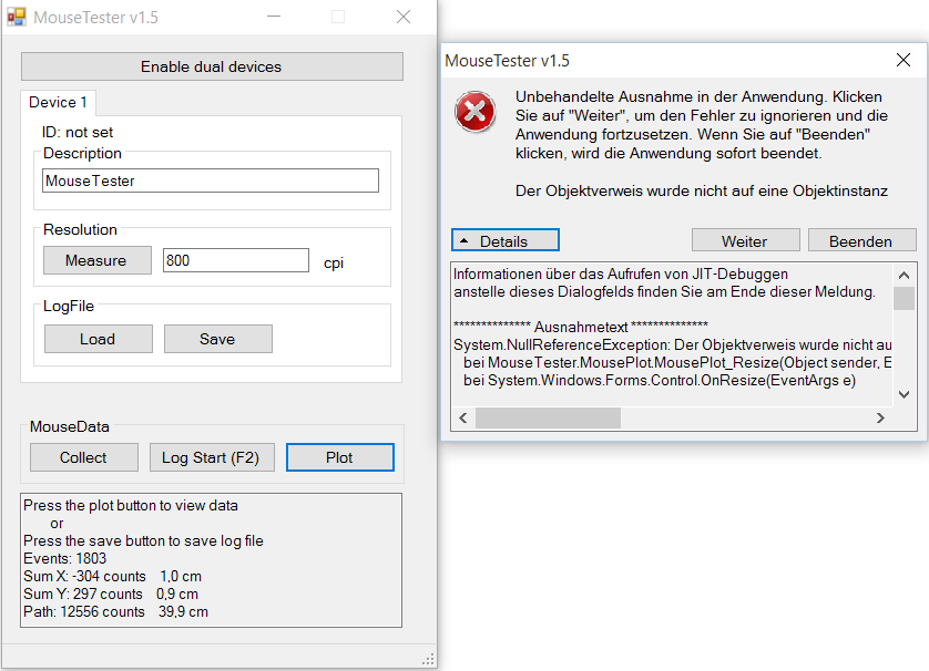 MouseTester Software Reloaded