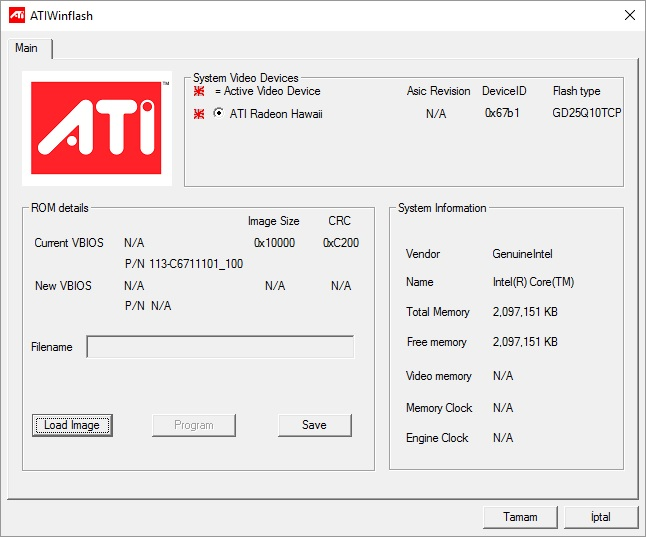 Tutorial] ATIWinFlash - How to flash the BIOS of your ATI