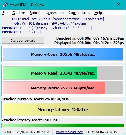 4x4Gb = insanely high memory latency?