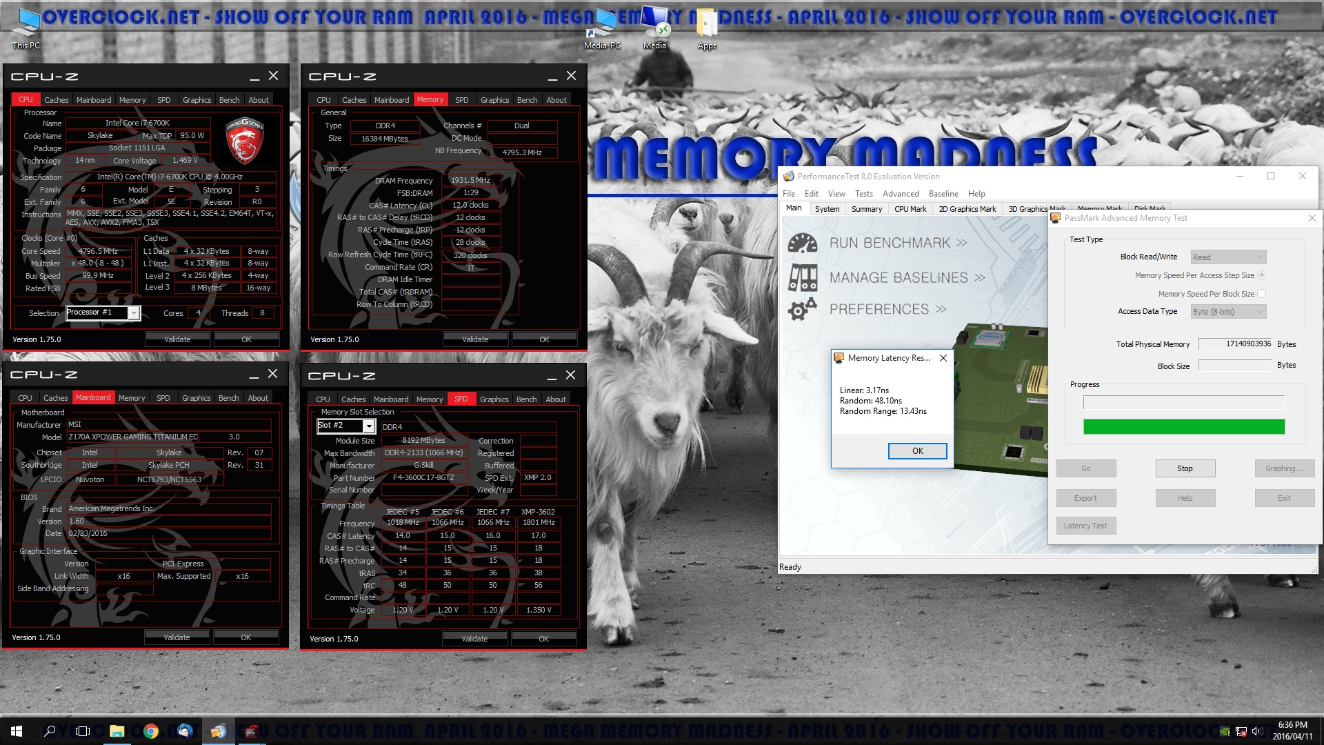 Mega Memory Madness Competition - Page 18 - Overclock net