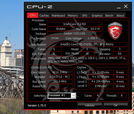 Z170A PC MATE - I7 6700 Non-K - Problems overclocking - BCLK does no difference -