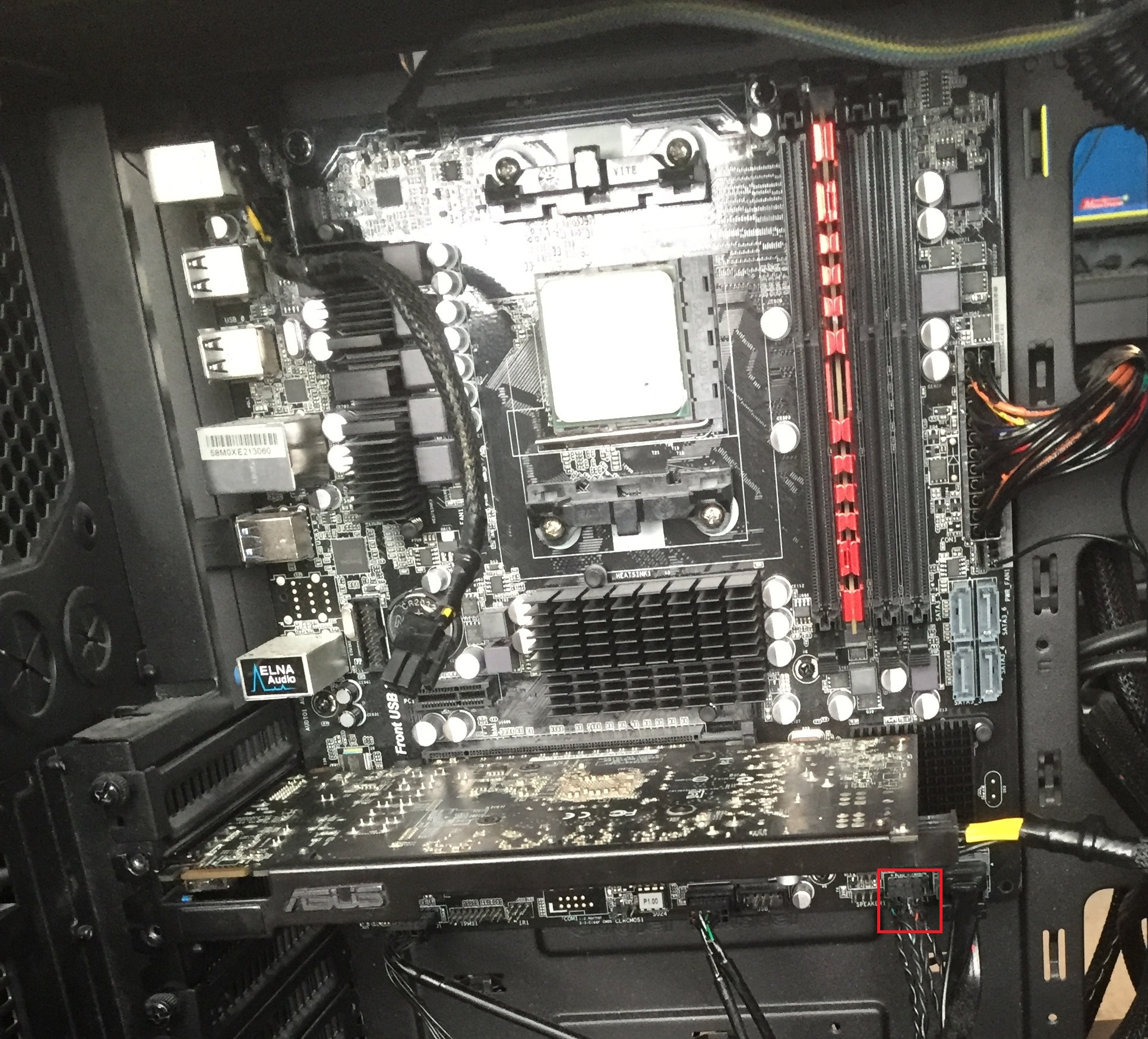 I just got my computer put together not turning on.