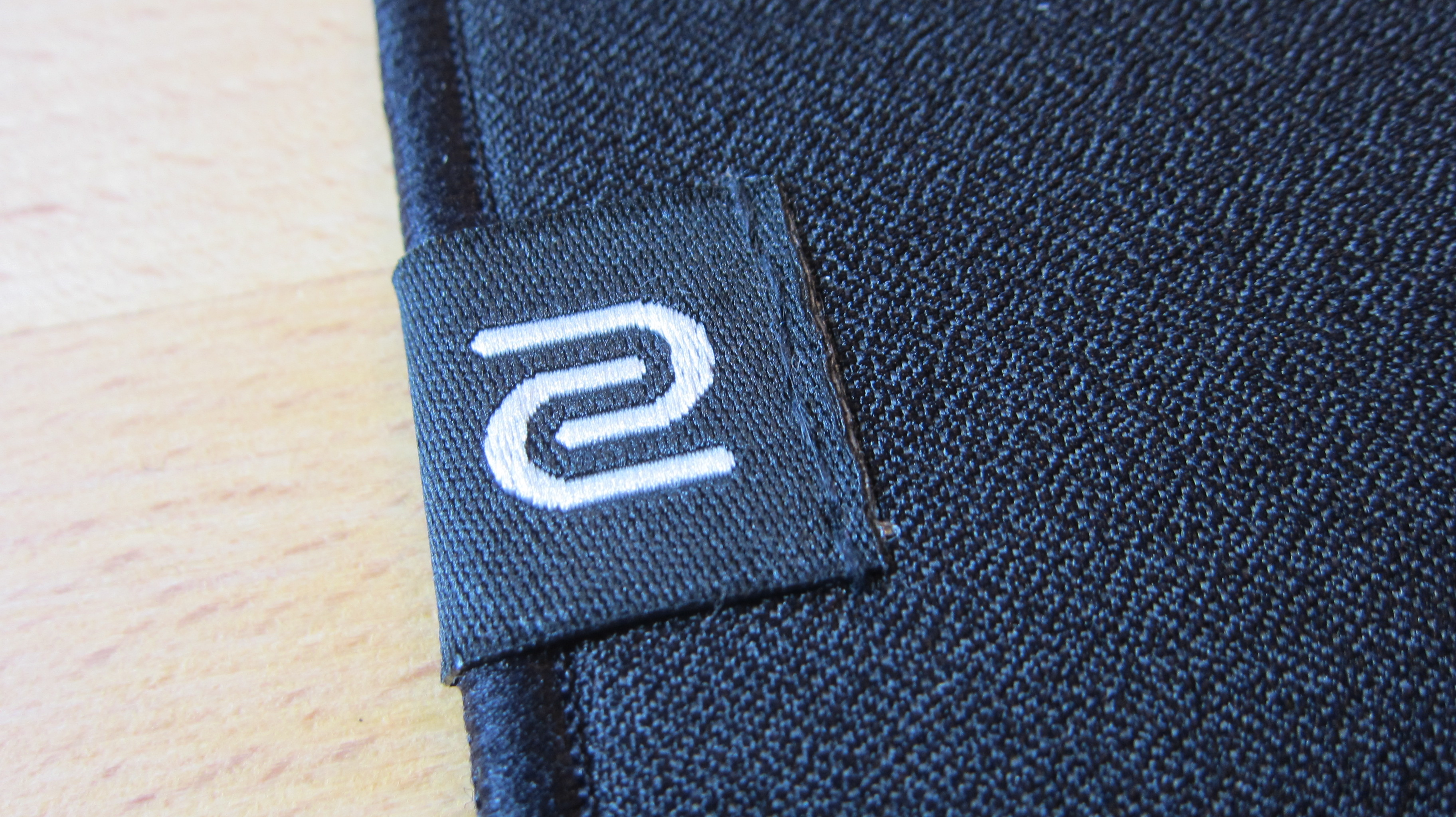 Close up of Zowie G-TF X mouse pad surface