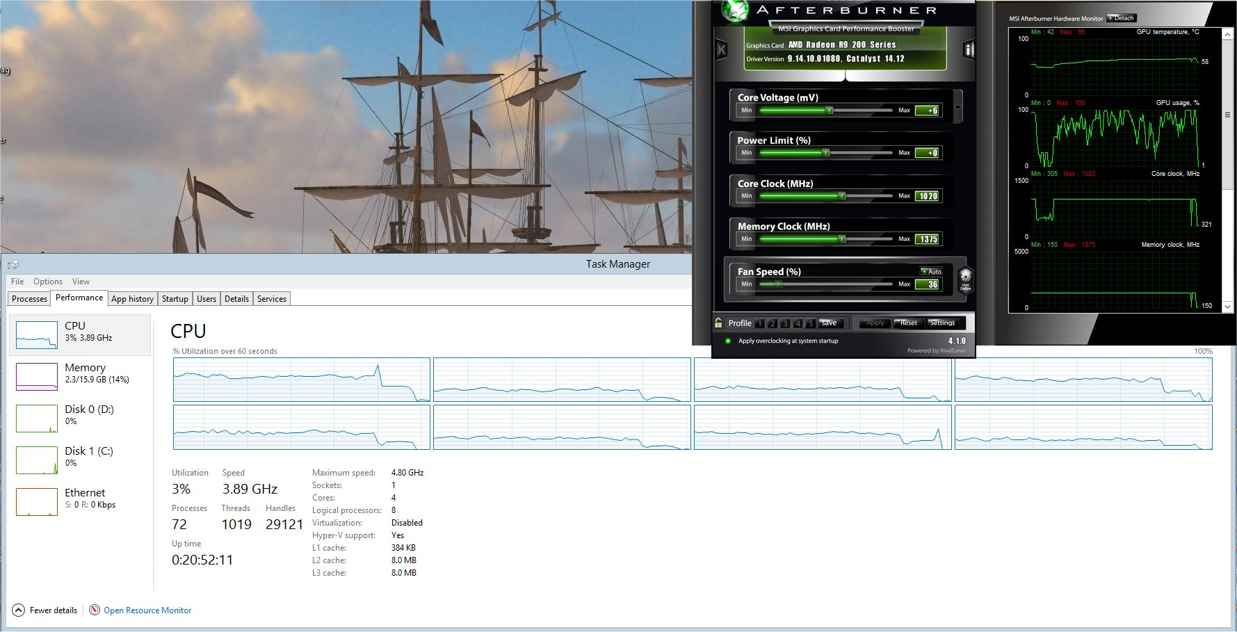 OBS studio and FX 8 cores - Overclock net - An Overclocking Community