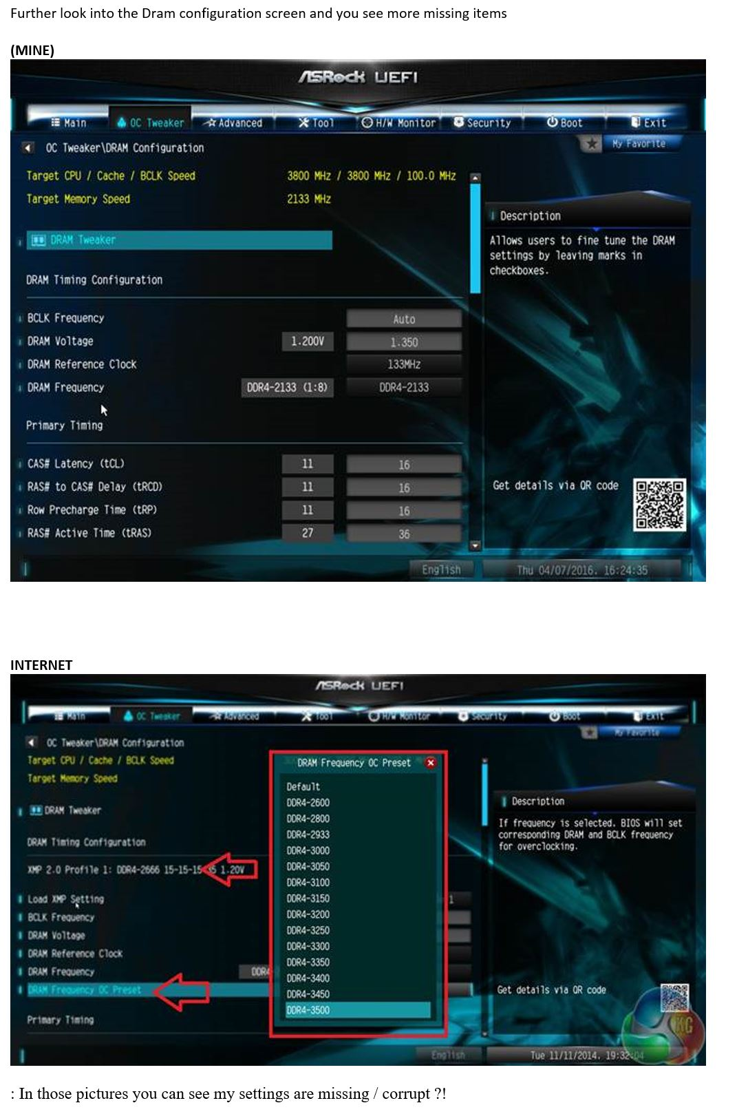 URGENT advice : ASrock Vs  ASUS -> (locked?) Xeon DRAM timings