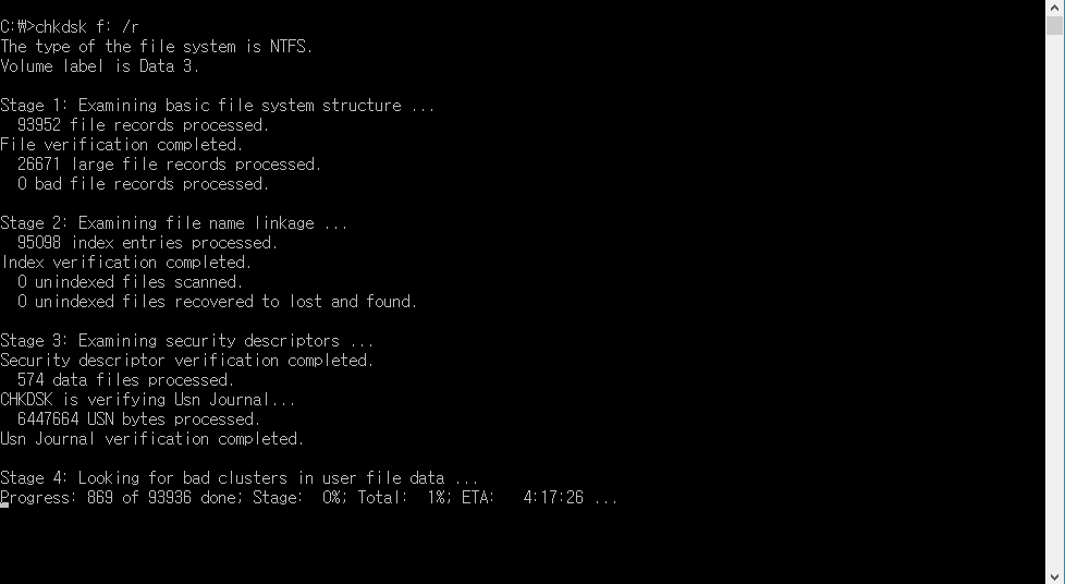 Need to make sure about chkdsk issue, please help! - Overclock.net