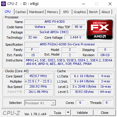 First time O/C with Fx6300 to 4.4ghz