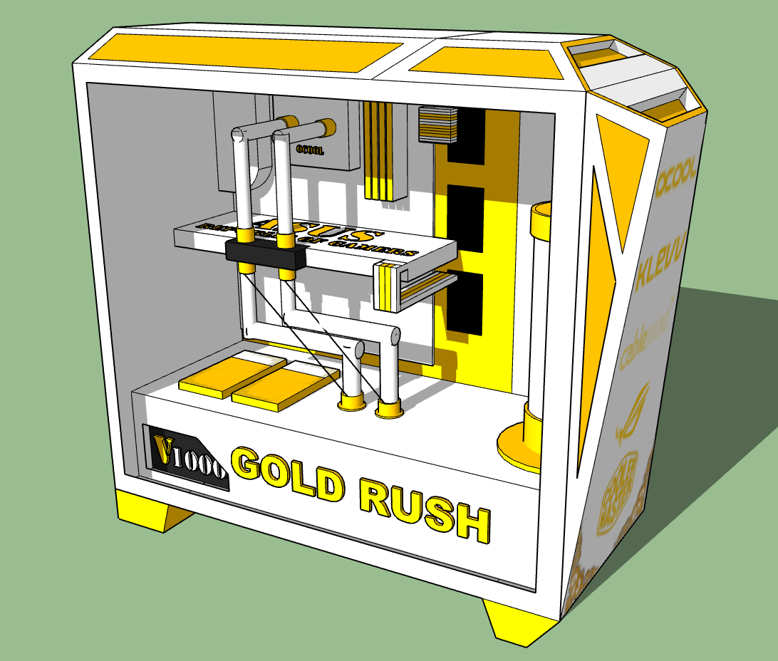 Project: Gold Rush (24ct Gold)