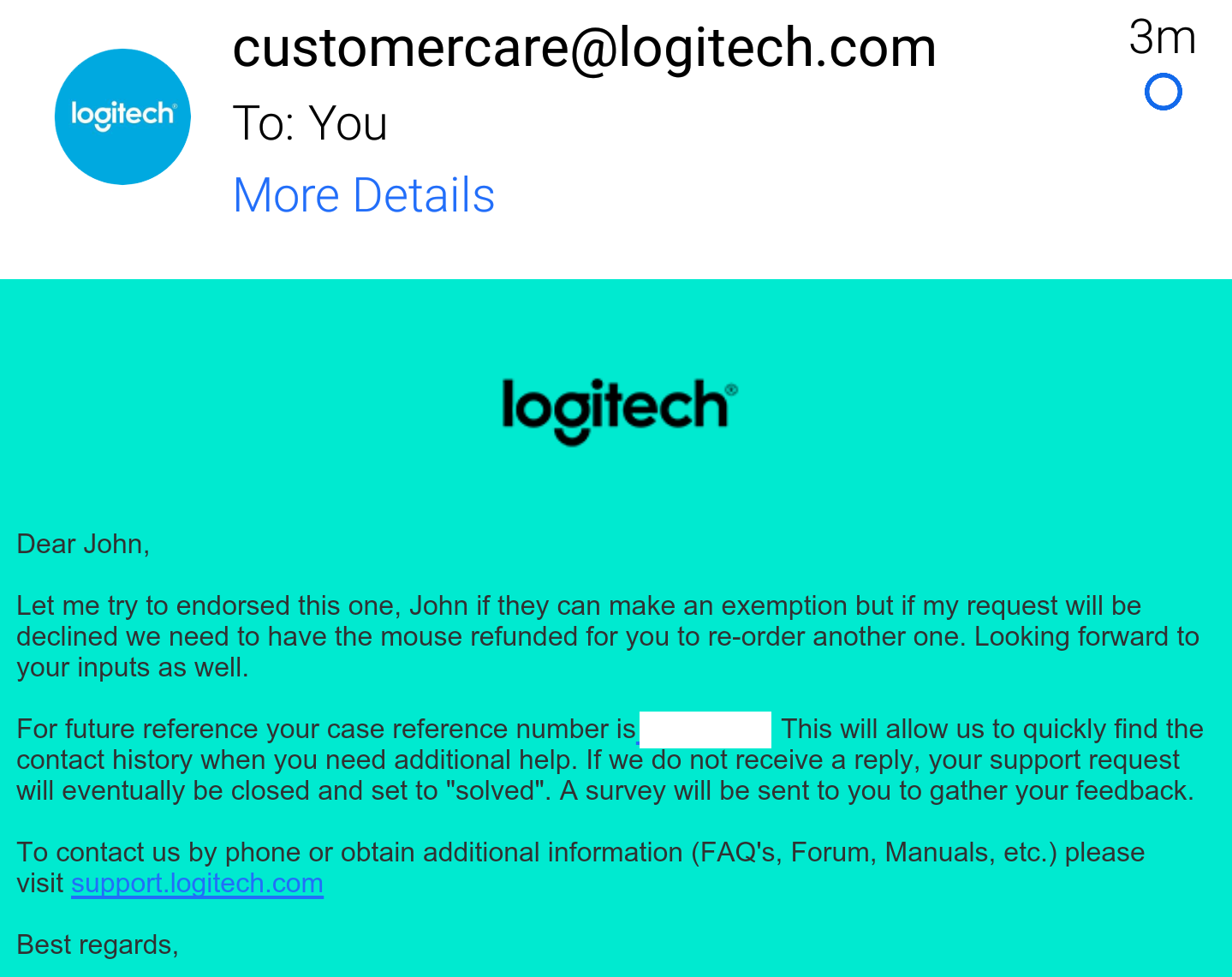 New Logitech G403 PRODIGY 107G + 10G - Wire/Wireless - Page 275 ...