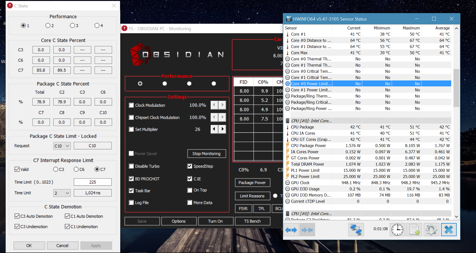 Haswell I7 Unable to Enable Deeper C States - Overclock net
