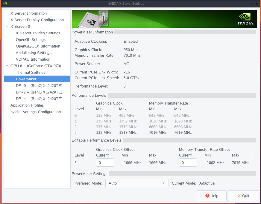 Where did overclocking in nvidia control panel go ?! - Overclock net