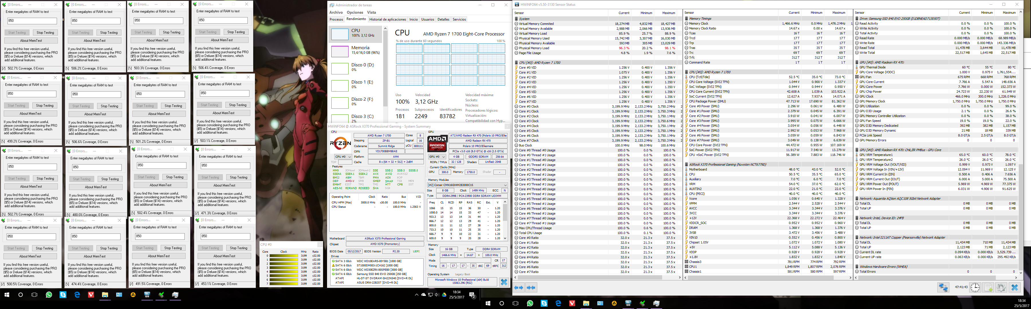 Official] AMD Ryzen DDR4 24/7 Memory Stability Thread - Page
