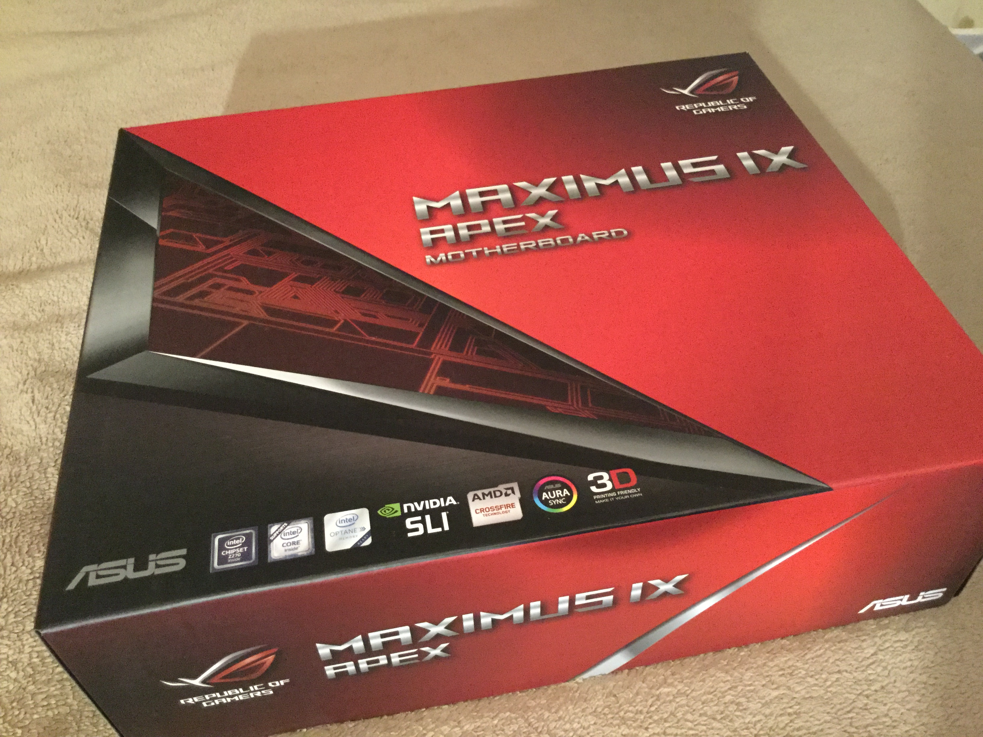 OFFICIAL] ASUS Z270 ROG IX SERIES OWNER'S THREAD - Page 5