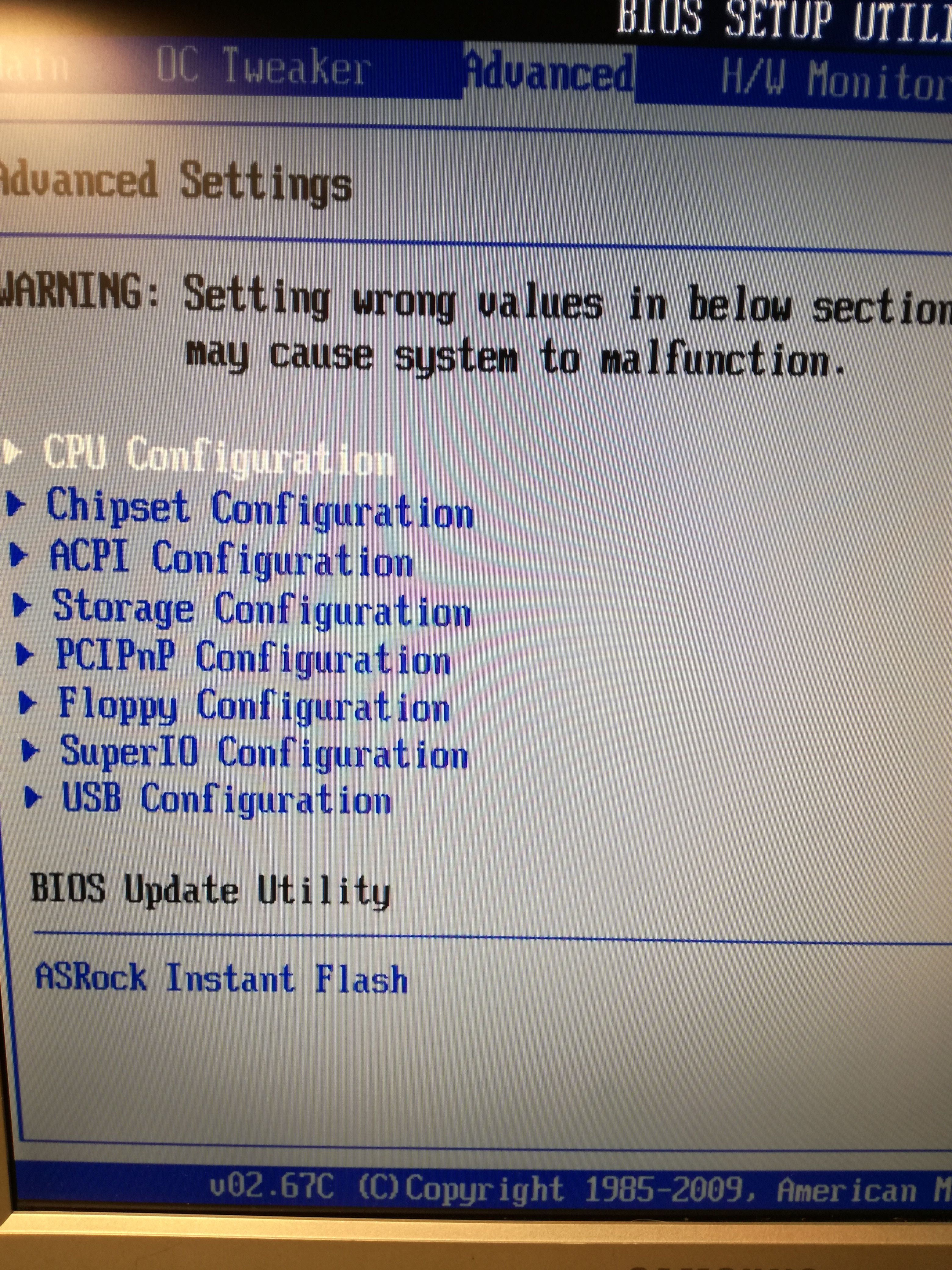 How To Instant Flash Bios Asrock