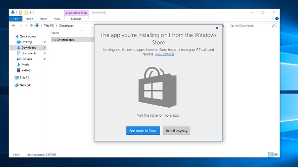 [PCGamesN] New Windows 10 anti-bloatware update attempts to block installation of Win32 apps