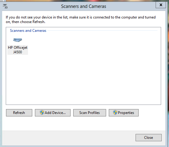 Solved] Get scanner working with Server 2012 R2? - Overclock