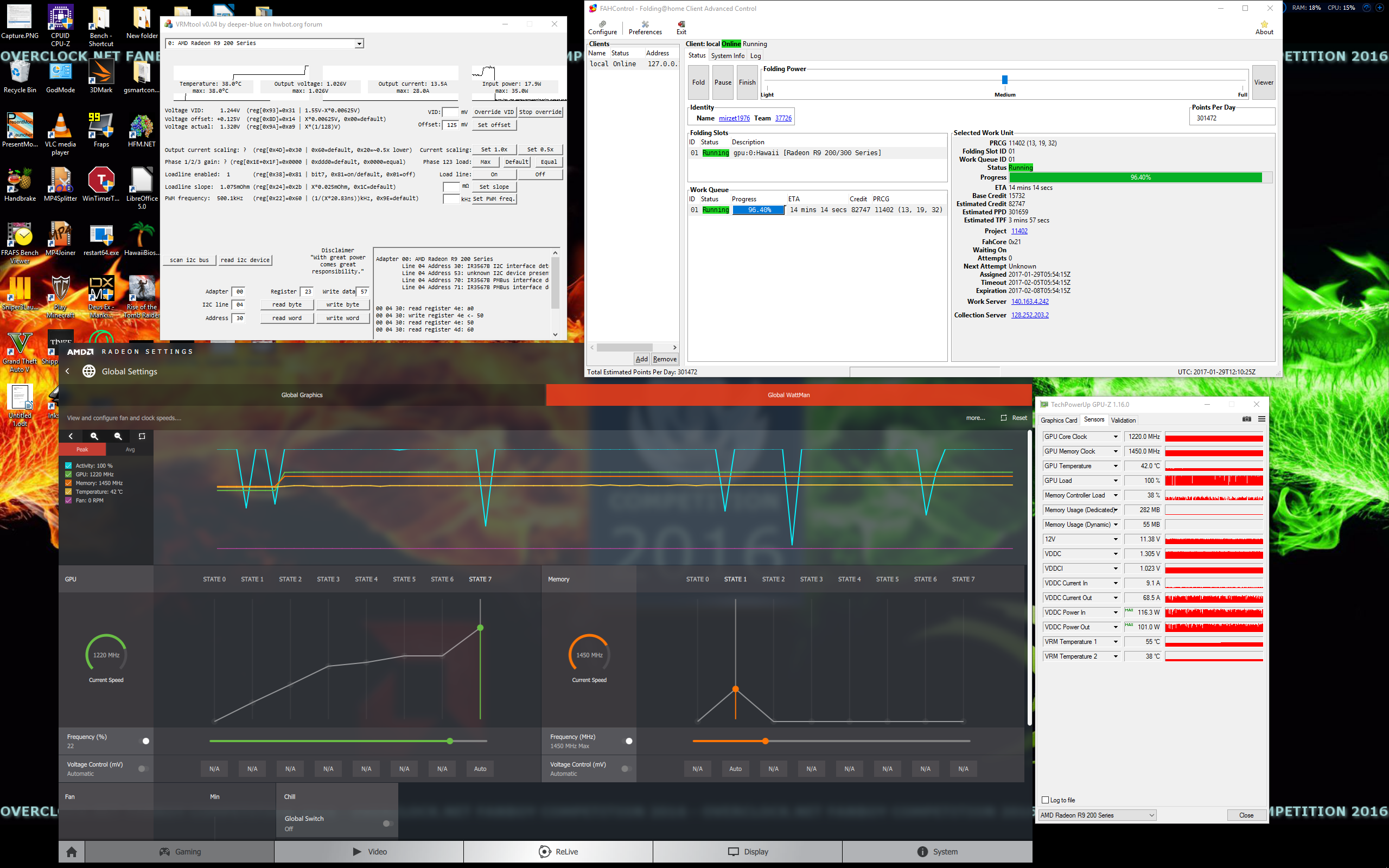 AMD] AMD Crimson ReLive Edition 16 12 2 - Page 6 - Overclock