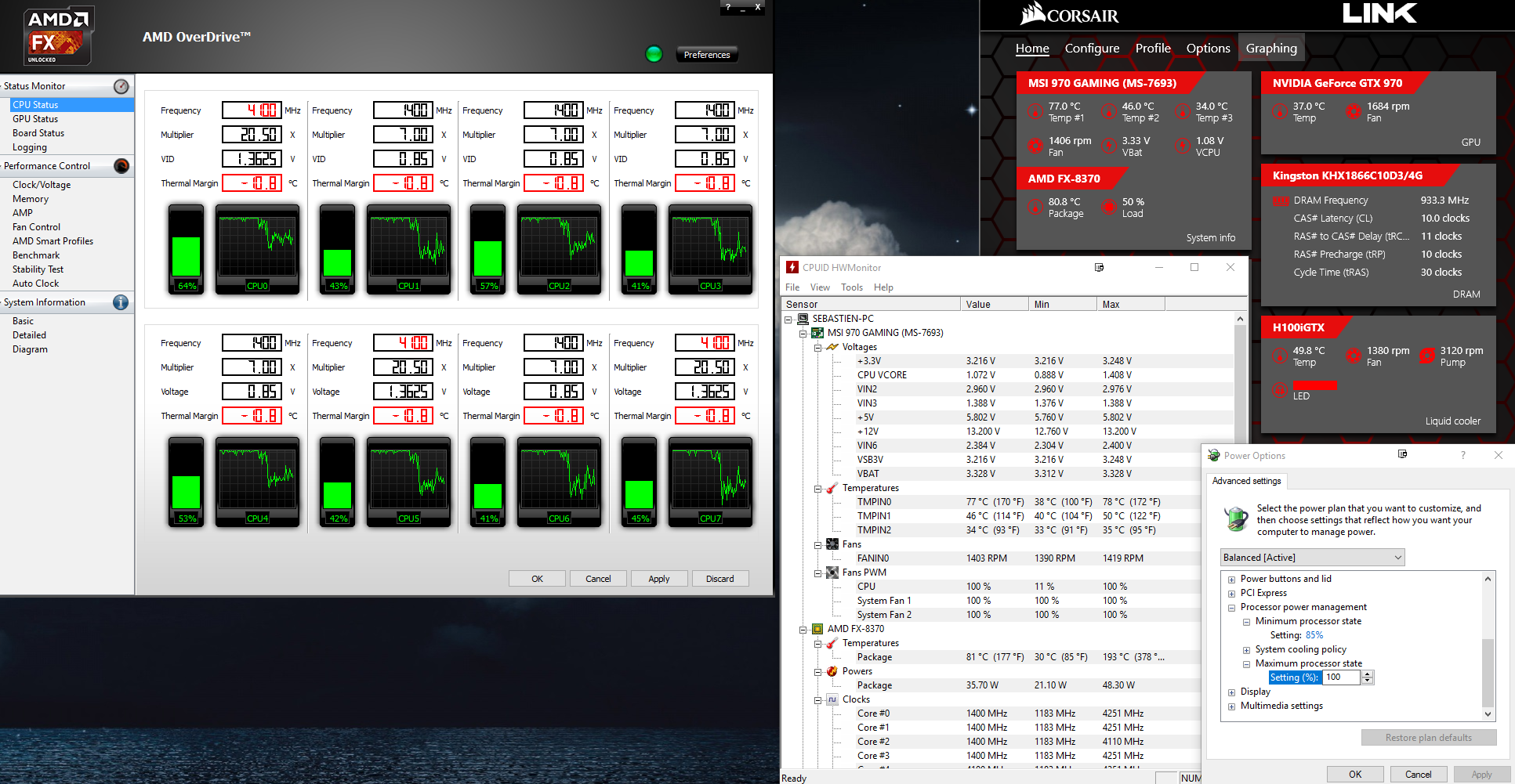 AMD FX-8370 Overheating - 80 Degrees At Idle - Overclock net