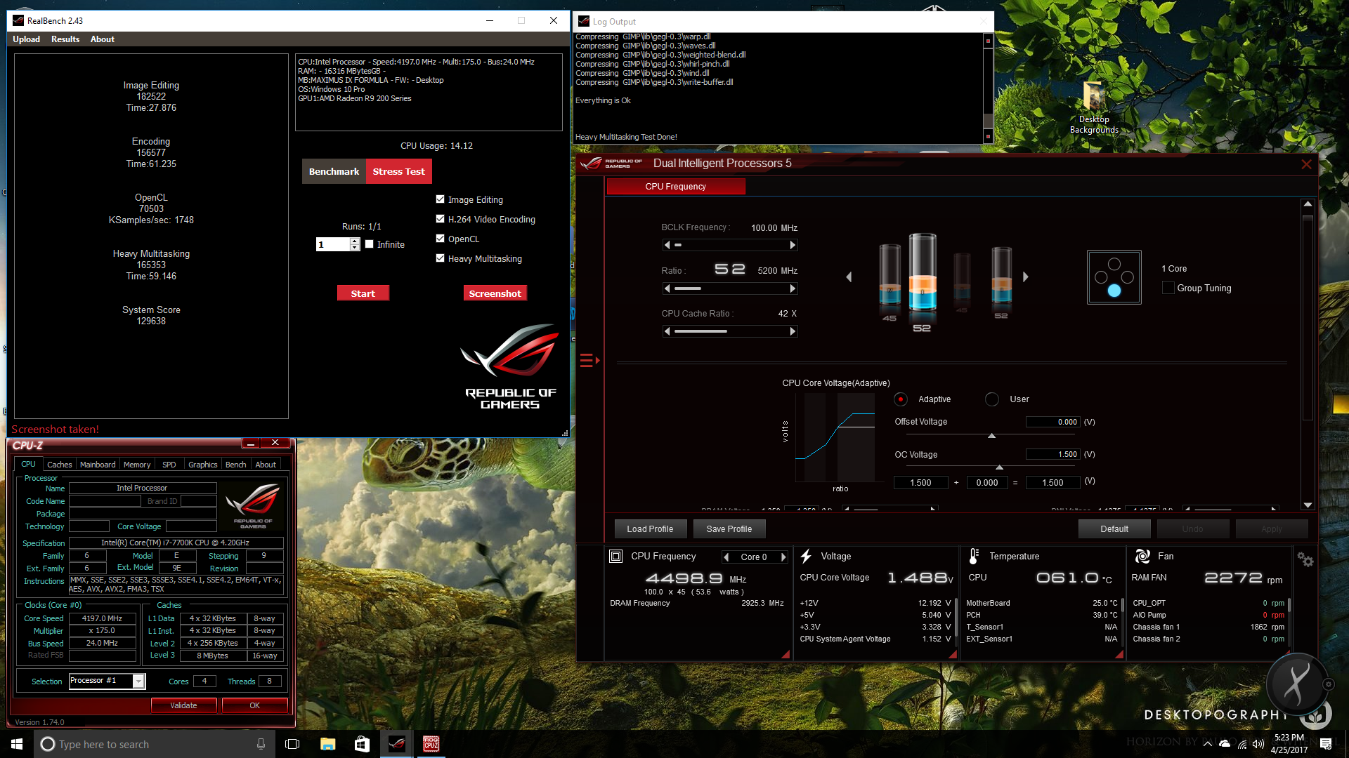 ASUS AI Suite 3 Rocks: i7 7700K Overclocked to 5 2 GHz with 5-way