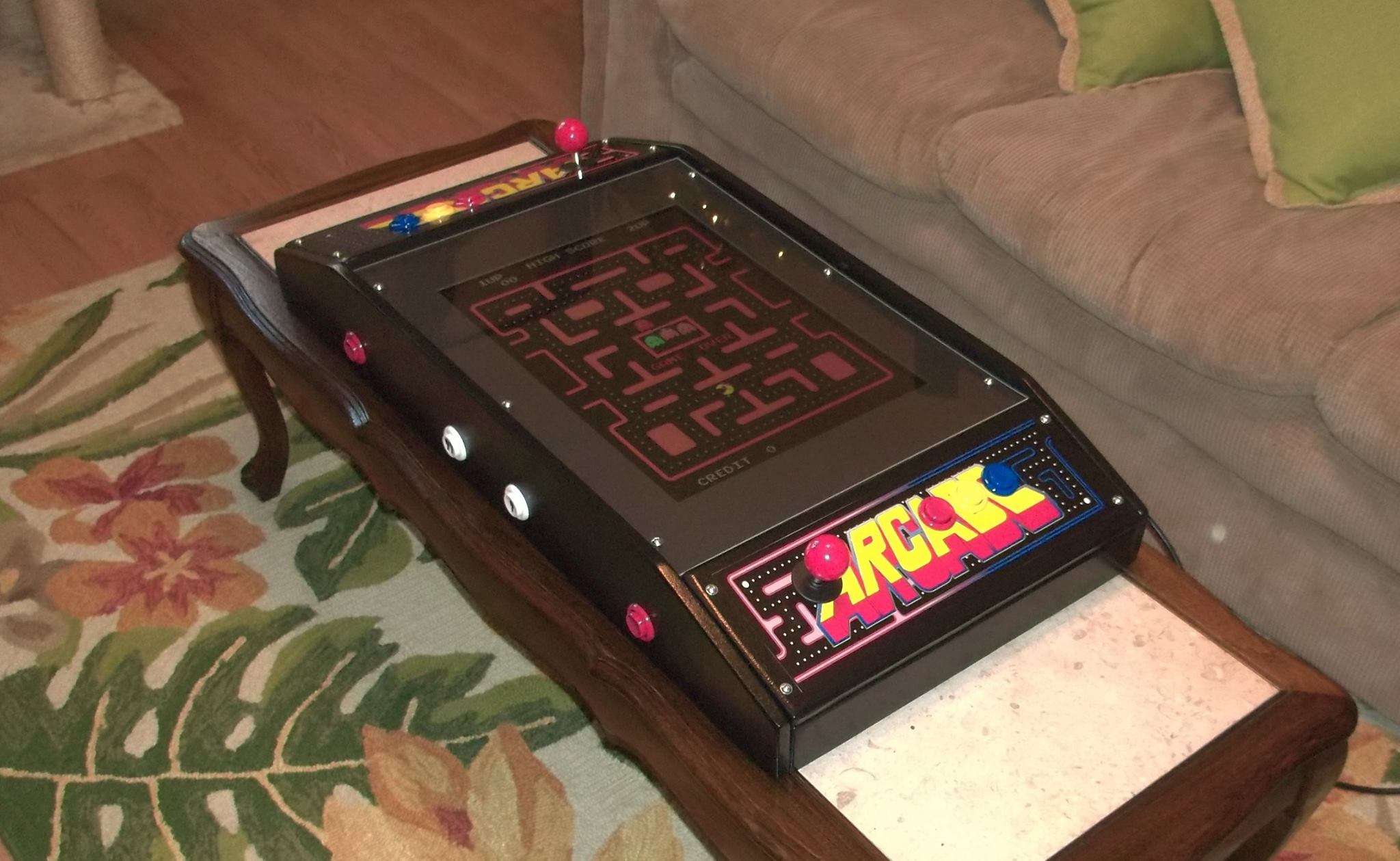 Jamma 60-in-1 cocktail arcade