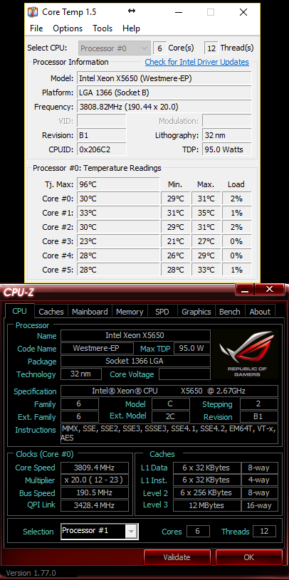 Official] - X58 Xeon Club - - Page 1030 - Overclock net - An