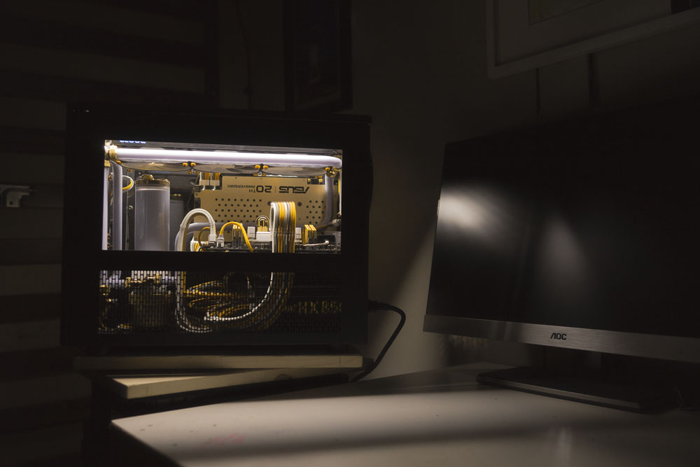Caselabs Gold S5 Build.