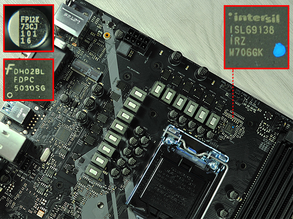 Z370 / Z390 VRM Discussion Thread - Page 12 - Overclock net
