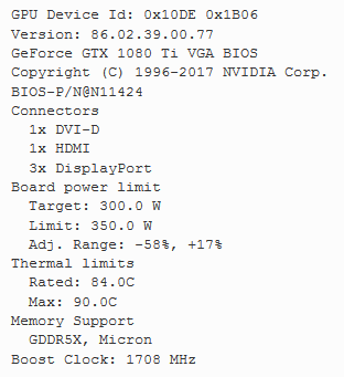 How To Flash A Different BIOS On Your 1080 Ti  - Page 21