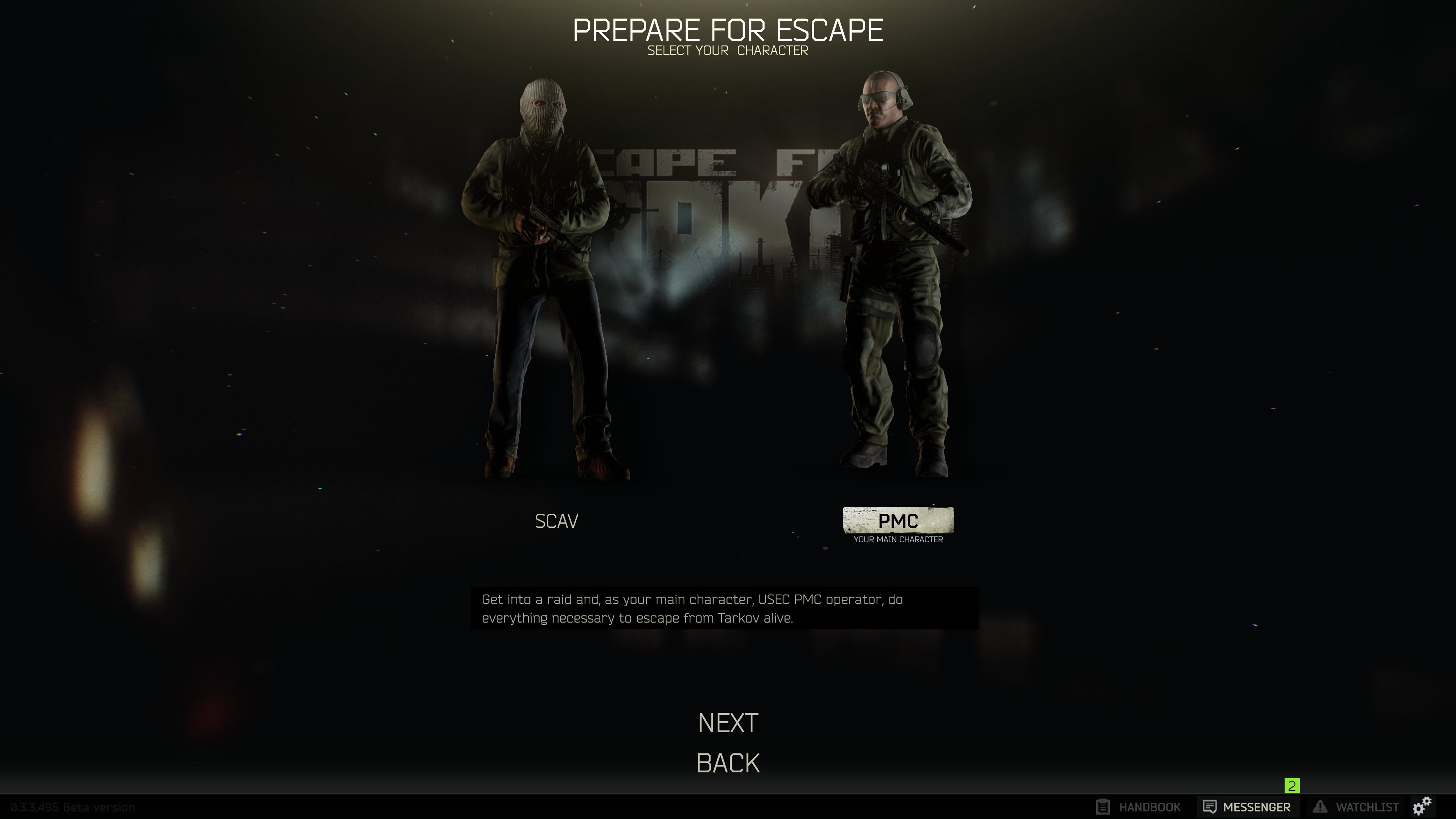 escape from tarkov edge of darkness items